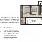 2 BHK Large Floor Plan
