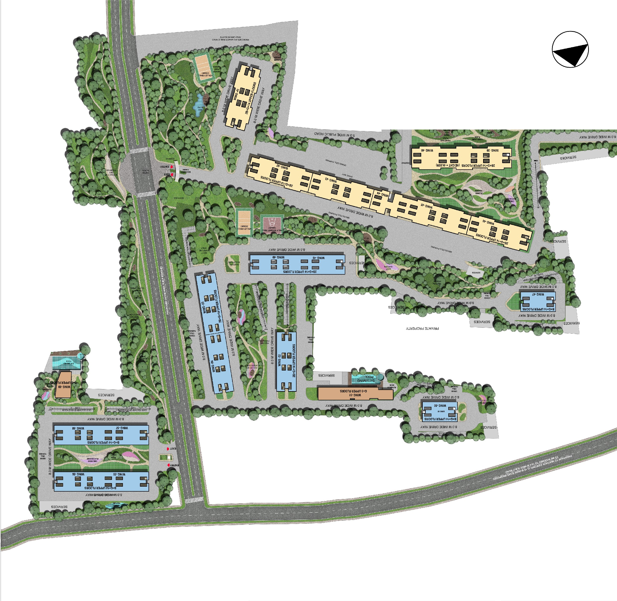 sobha-gateway-of-dreams-master-plan