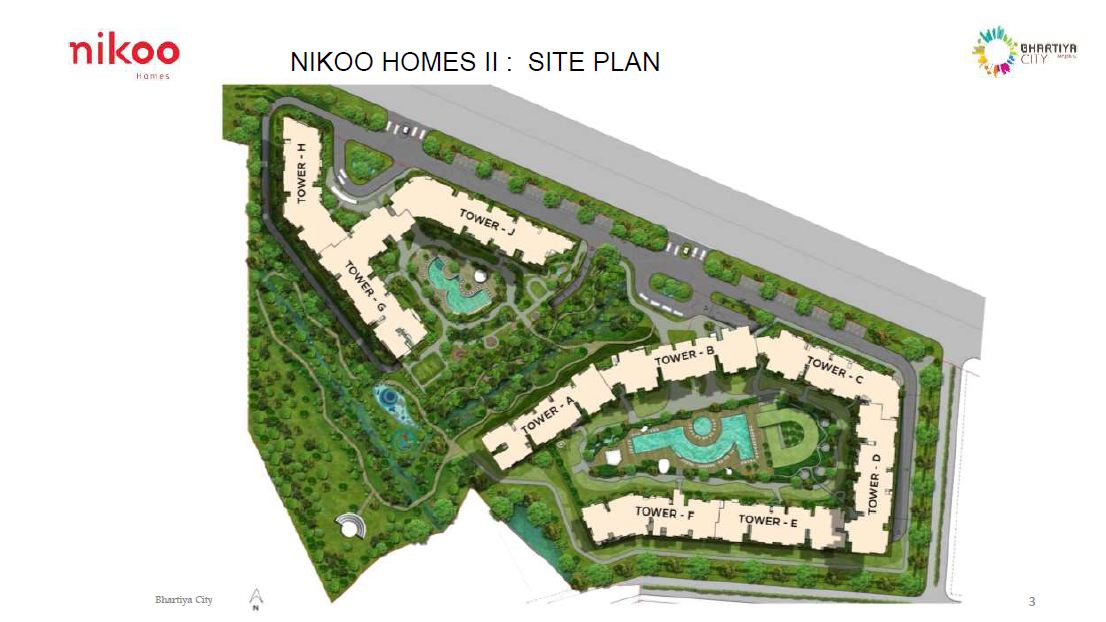 bhartiya_city_nikoo_homes_phase_2_master_plan