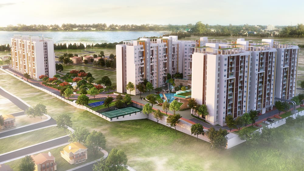 Shriram Blue Location and Floor plan